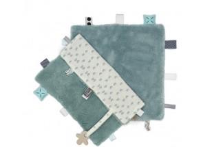Snoozebaby Knuffeldoek Gray Mist