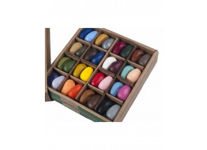 Crayon Rocks Just Rocks in a box - 4 x 16 kleuren - 64 krijtjes in een doos