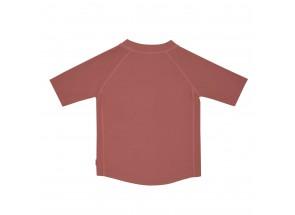LÄSSIG t-shirt korte mouw zon/rosewood 18 m, 86 cm