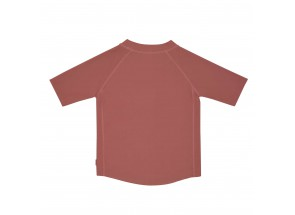 LÄSSIG t-shirt korte mouw zon/rosewood 24 m, 92 cm