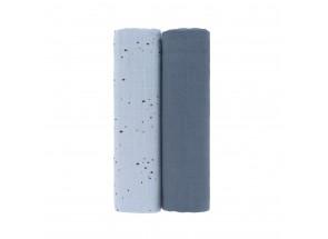 LÄSSIG Swaddle - Hydrofiele doek 2 stuks XL More Magic Seal 120 x 120 cm