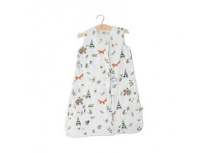 Little Unicorn Muslin slaapzak Forest friends (12-18m) TOG 1.1