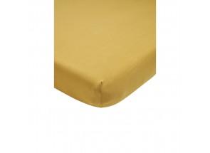 Meyco Jersey Hoeslaken honey gold 60x120 cm