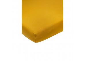 Meyco Jersey Hoeslaken okergeel 60x120 cm