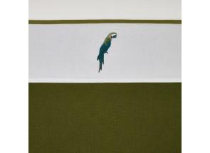 Meyco Katoenen laken Parrot - Papegaai 75x100 cm
