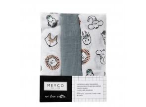 Meyco Hydrofiel Animal set 3 stuks  70 x 70 cm