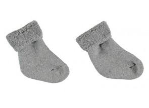Petit Oh! Sokjes grijs 0-3 m