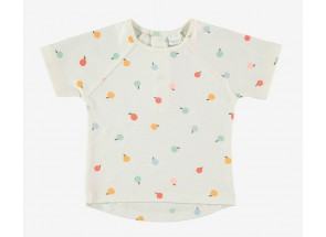 Petit Oh! t-shirt korte mouwen camu 6-9 m
