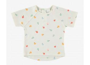 Petit Oh! t-shirt korte mouwen camu 3-6 m