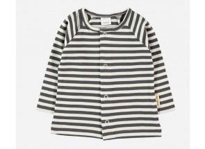 Petit Oh! t-shirt lange mouwen iron vanille 3-6 m