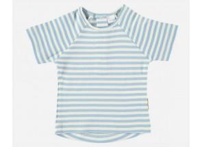 Petit Oh! t-shirt korte mouwen blue vanille 6-9 m