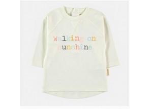 Petit Oh! t-shirt lange mouwen walking on sunshine 6-9 m
