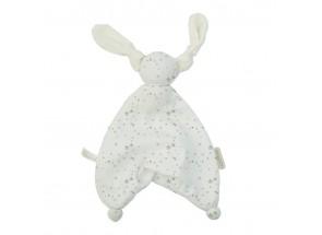 Hoppa Giftset 2 swaddles + 1 floppy stars taupe baby pink  120 x 120 cm