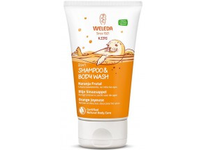Weleda Kids 2in1 Shampoo & Body Wash Blije Sinaasappel 150 mL