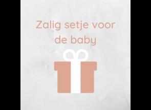 Zalig setje voor de baby