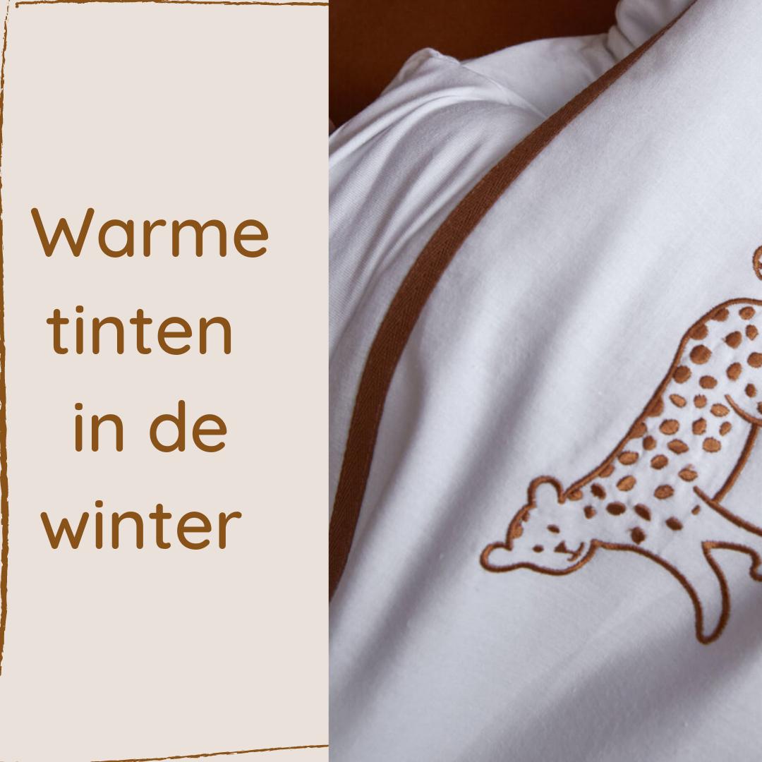warme tinten in de winter
