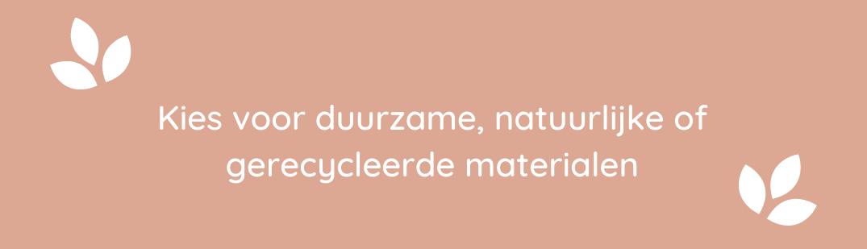 natuurlijke en gerecycleerde materialen baby en kinderen